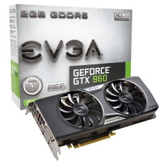 Placa de Video NVIDIA GeForce GT 960 2 GB GDDR5 128 Bits EVGA 02G-P4-2963-KR