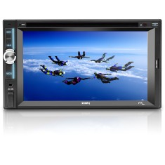 "DVD Player Automotivo Multilaser 6 "" Zion P3307 Touchscreen Entrada para camêra de ré"