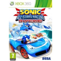 Jogo Sonic & All Star Racing Transformed Xbox 360 Sega