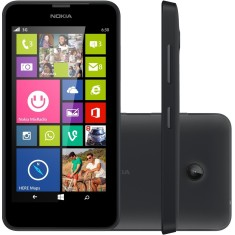 Smartphone Nokia Lumia TV Digital 8GB 630 5,0 MP 2 Chips Windows Phone 8.1 Wi-Fi 3G
