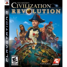 Jogo Sid Meier's Civilization Revolution PlayStation 3 2K