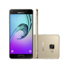 Smartphone Samsung Galaxy A3 2016 16GB A310 13,0 MP 2 Chips Android 6.0 (Marshmallow) 3G 4G Wi-Fi