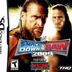 Jogo WWE Smackdown vs. Raw 2009 THQ Nintendo DS