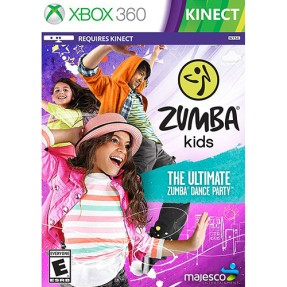 Jogo Zumba Kids Xbox 360 Majesco Entertainment