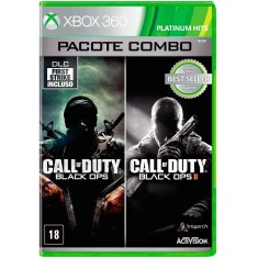 Jogo Combo Call of Duty Black Ops e Black Ops II Xbox 360 Activision