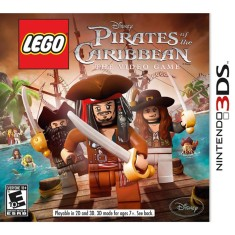 Jogo Lego Pirates Of The Caribbean LucasArts Nintendo 3DS