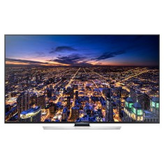 "Smart TV TV LED 3D 75"" Samsung Série 8 4K Netflix UN75HU8500 4 HDMI"