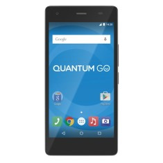 Smartphone Quantum Go 16GB 13,0 MP 2 Chips Android 5.1 (Lollipop) 3G 4G Wi-Fi