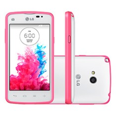 Smartphone LG L50 Sporty TV Digital 4GB D227 5,0 MP 2 Chips Android 4.4 (Kit Kat) 3G Wi-Fi