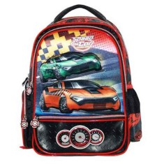 Mochila Escolar Santino Speed Car SCM600203