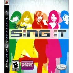 Jogo Sing it: Disney PlayStation 3 Disney