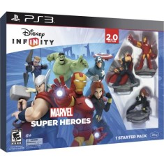 Jogo Disney infinity 2.0 Marvel Super Heroes PlayStation 3 Disney
