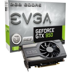 Placa de Video NVIDIA GeForce GTX 950 2 GB GDDR5 128 Bits EVGA 02G-P4-0952-KR