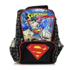 Mochila Escolar Luxcel Superman IS31263SM