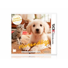 Jogo Nintendogs + Cats Golden Retriever Nintendo 3DS