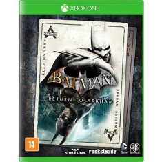 Jogo Batman Return to Arkham Xbox One Warner Bros