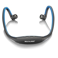 Headset Bluetooth Multilaser com Microfone