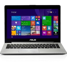 "Notebook Asus VivoBook Intel Celeron 1007U 2GB de RAM HD 500 GB 14"" Touchscreen Windows 8 S400CA"
