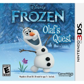 Jogo Disney Frozen Olaf's Quest GameMill Nintendo 3DS