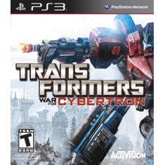 Jogo Transformers: War for Cybertron PlayStation 3 Activision