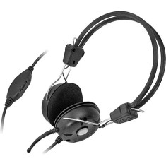 Headset com Microfone Bright Mini Sol Negro