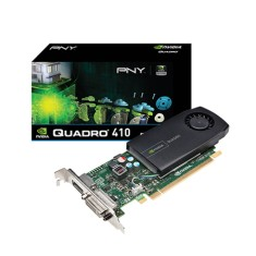 Placa de Video NVIDIA Quadro 410 512 MB DDR3 64 Bits PNY VCQ410-PORPB
