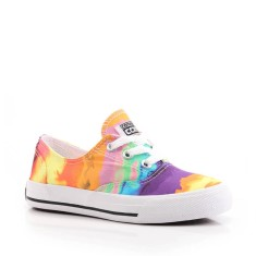 Tênis Converse All Star Infantil (Menina) Casual Skidgrip CVO Psychedelic Ox