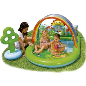 Piscina Inflável 123 l Oval Intex 57421