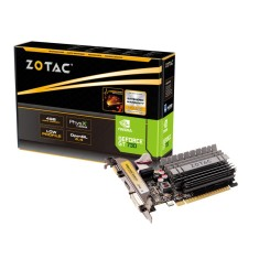 Placa de Video NVIDIA GeForce GT 730 4 GB DDR3 64 Bits Zotac ZT-71115-20L