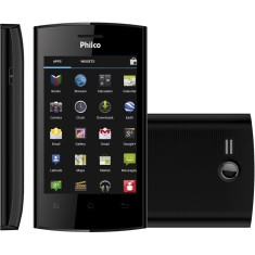 Smartphone Philco 350 3,0 MP 2 Chips Android 4.0 (Ice Cream Sandwich) Wi-Fi 3G