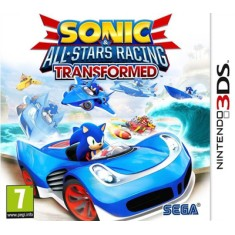 Jogo Sonic & All-Stars Racing: Transformed Sega Nintendo 3DS