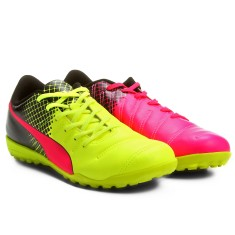 Chuteira Society Puma Evopower 4.3 Tricks TT Adulto