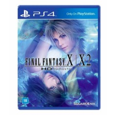Jogo Final Fantasy X/X2 HD Remaster PS4 Square Enix