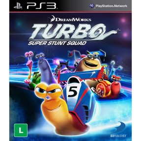 Jogo Turbo: Super Stunt Squad PlayStation 3 D3 Publisher