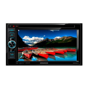 "DVD Player Automotivo Kenwood 6 "" DDX2071 Touchscreen Entrada para camêra de ré"