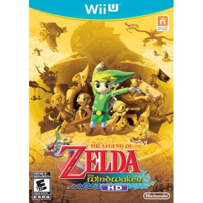 Jogo The Legend of Zelda: The Windwaker HD Wii U Nintendo
