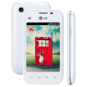 Smartphone LG L35 TV Digital 4GB D157 3,0 MP 2 Chips Android 4.4 (Kit Kat) Wi-Fi 3G