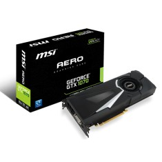 Placa de Video NVIDIA GeForce GTX 1070 8 GB GDDR5 256 Bits MSI GTX 1070 Aero 8G