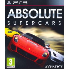 Jogo Absolute Supercars PlayStation 3 System 3