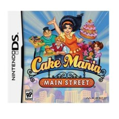 Jogo Cake Mania Main Street Majesco Entertainment Nintendo DS