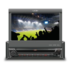 "DVD Player Automotivo UCB Connect 7 "" UCB-DR171AV Touchscreen USB"