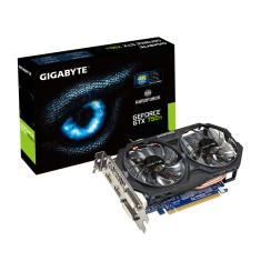 Placa de Video NVIDIA GeForce GTX 750 Ti 2 GB GDDR5 128 Bits Gigabyte GV-N75TOC-2GI