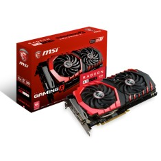 Placa de Video ATI Radeon RX 480 4 GB GDDR5 256 Bits MSI RX 480 GAMING X 4G
