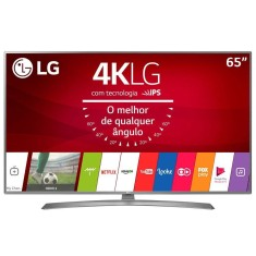"Smart TV LED 65"" LG 4K HDR 65UJ6585 4 HDMI"