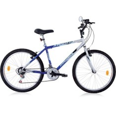Bicicleta Mountain Bike Houston 21 Marchas Aro 24 Freio V-Brake Atlantis Land