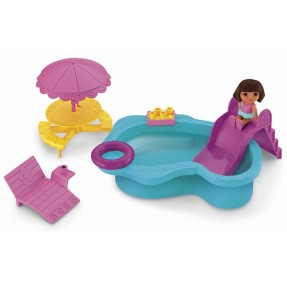 Boneca Dora a Aventureira Playset Piscina Fisher Price