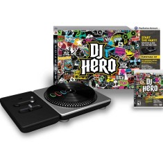 Jogo DJ Hero Turntable Kit PlayStation 3 Activision