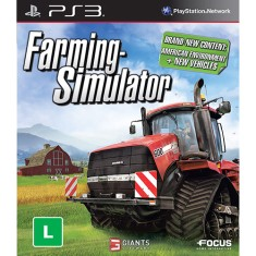 Jogo Farming Simulator PlayStation 3 Focus