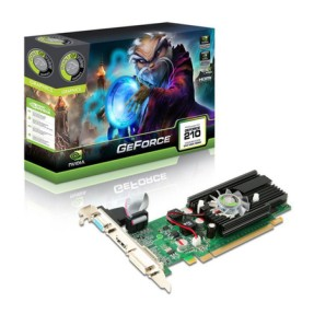 Placa de Video NVIDIA GeForce GT 210 1 GB DDR2 64 Bits Point Of View VGA-210-C2-1024
