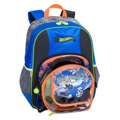 Mochila Escolar Sestini Hot Wheels 16Z GG 64146